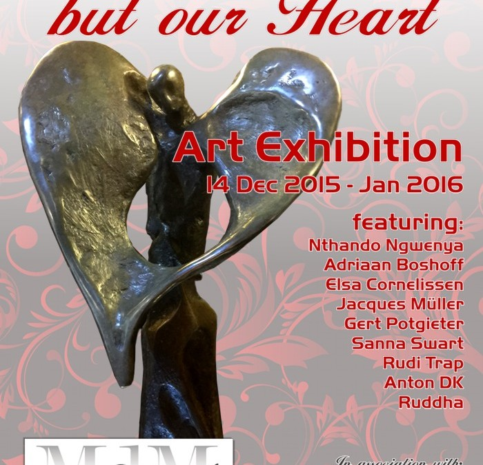 """Meet the Artists at the """"It's not our Art, but our Heart"""" Art Exhibition at MORCEAU DE MANTEL 16 Dec from 14:00"""