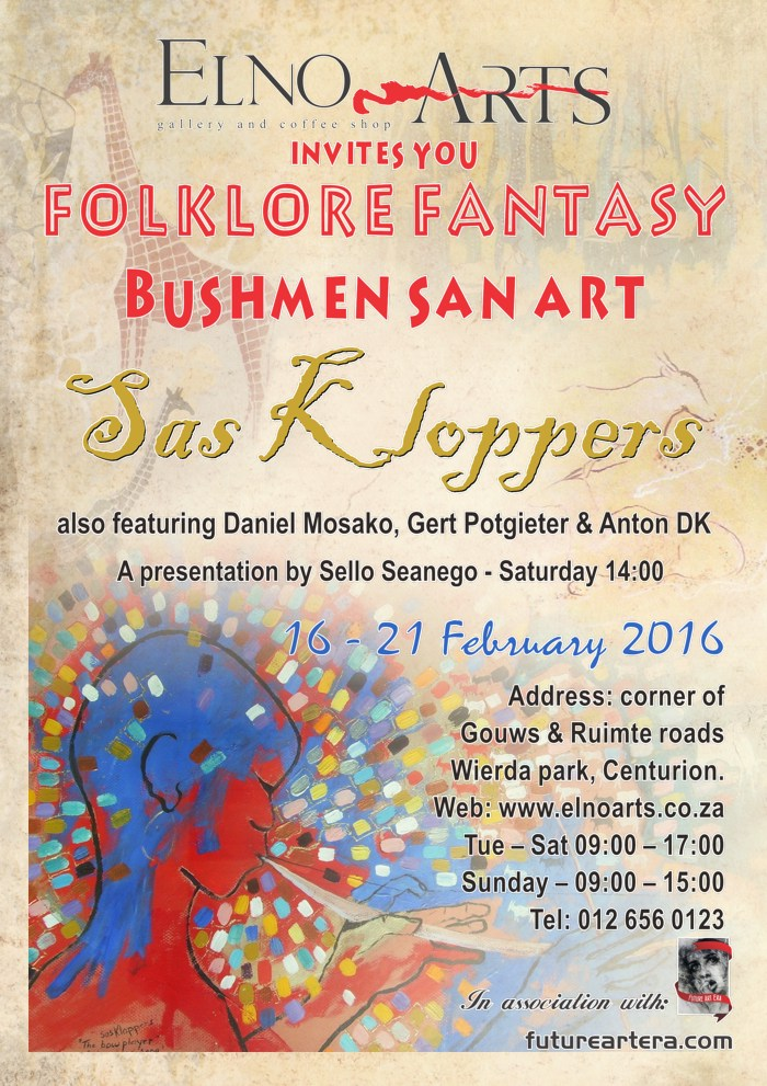 Sas Kloppers exhibition poster pc version final