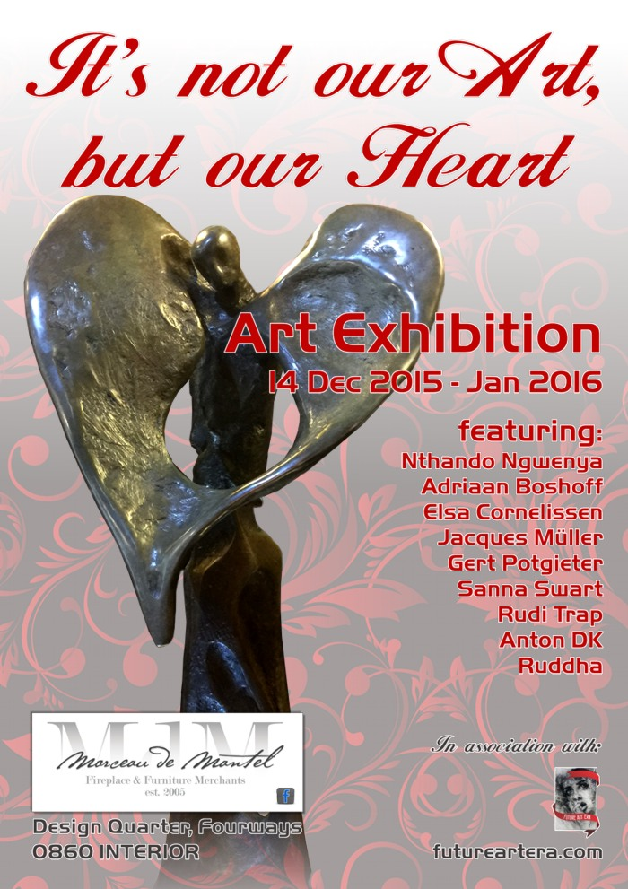 Its not our Art but our Heart Exhibition web version